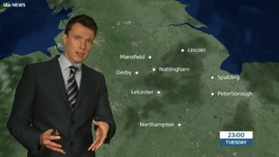 East Midlands Weather: Sunny spells this evening, largely dry overnight