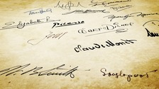 What does your (now outdated) signature reveal about you?