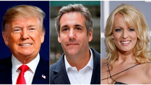 Donald Trump's former lawyer Michael Cohen says the president 'directed hush money to influence election'
