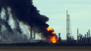 'Fireball explosion' at Cheshire oil plant