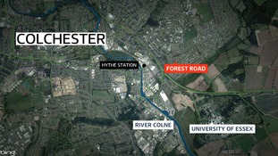 A mans body was found on Forest Road, Colchester