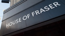 House of Fraser's store in Telford is to remain open under a deal secured by Mike Ashley.