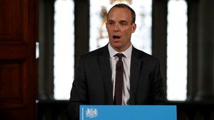 Card payment hikes and pension fears as Dominic Raab outlines no-deal Brexit contingency plans