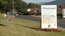 Minehead sign
