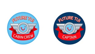 The stickers are meant to be gender neutral but were handed out along gender lines by crew.