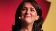 Olive Foley received a standing ovation after speaking about the loss of her rugby legend husband Anthony at the World Meeting of Families in Dublin