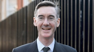 Jacob Rees-Mogg, leader of the pro-Brexit European Research Group of Tory MPs.