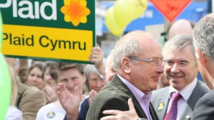Ron Davies at Plaid rally