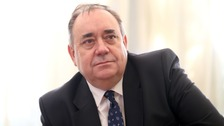 Former Scotland first minister Alex Salmond released a statement on Twitter.