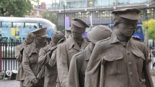 Centenary 'Gassed' Sculpture