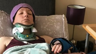 Carrie Beckwith-Fellows is mainly bedridden and has problems speaking and remembering things