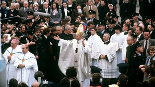 John Paul II was the last pope to visit Ireland.