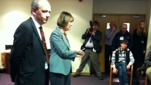 John O'Farrell & Harriet Harman