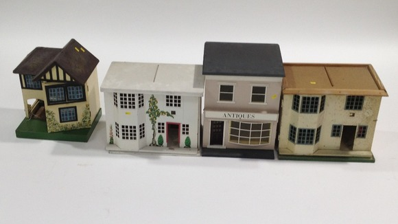 A collection of 30 dolls houses were up for auction in Newcastle
