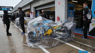 The race at Silverstone has been cancelled.