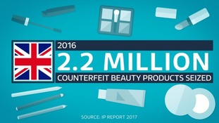 The counterfeit beauty economy is booming.