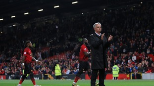 Jose Mourinho: Manchester United were 'really, really unlucky' to lose