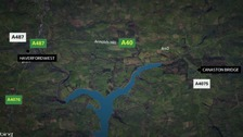 Map of A40