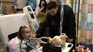 Seriously ill 11-year-old visited in hospital by Drake receives heart transplant