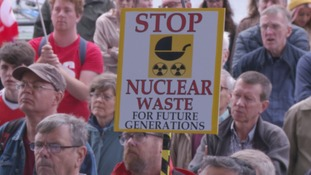 nuclear waste sign