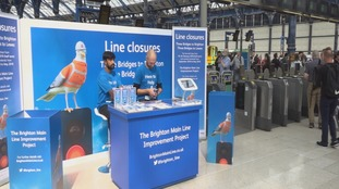 34 days of rail closures during Brighton train line works