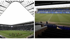 Stadium MK (left) and the ABAX Stadium (right) could both host games.