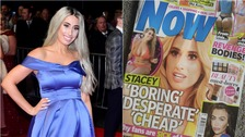 Stacey Solomon was hurt by Now Magazine's headline.