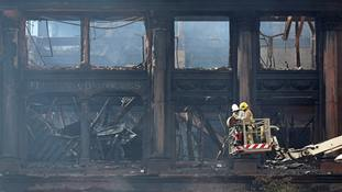 Fire-hit Primark building in Belfast 'could collapse'