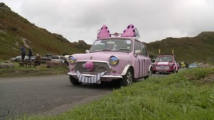 Minis go on tour for Children's Hospice South West
