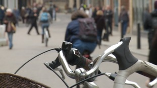Cambridge is England's cycling capital