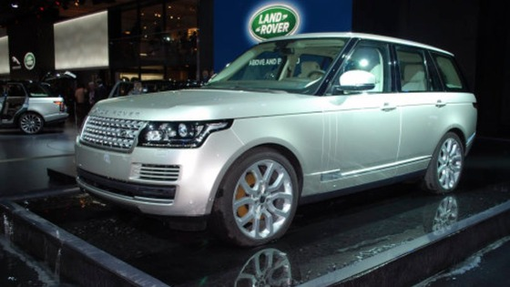 The all new Range Rover