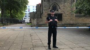 crime scene Salford