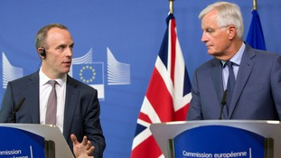 What we learned from Dominic Raab and Michel Barnier's Brexit meeting