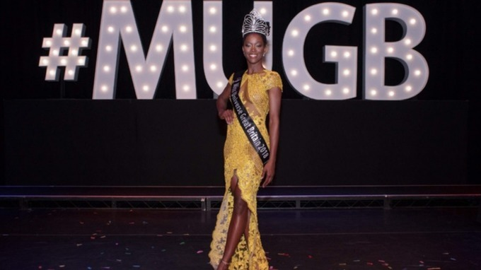 Dee-Ann Kentish Rogers is the first black woman to win Miss Universe GB.