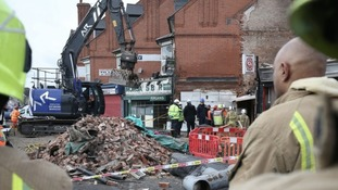The blast destroyed a shop and a flat on the Hinckley road in Leicester in February.