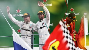 Lewis Hamilton claims stunning win in the Italian Grand Prix to further lead over Sebastian Vettel in the title race
