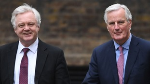 Michel Barnier attacks PM's Brexit trade offering as David Davis claims Chequers plan is 'almost worse than being in'