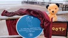 Sooty was discovered in Blackpool by Harry Corbett