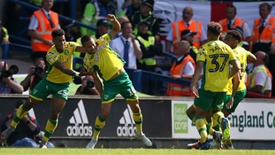 Leitner cancels out Edwards opener to stretch Norwich City's unbeaten run in the East Anglian Derby