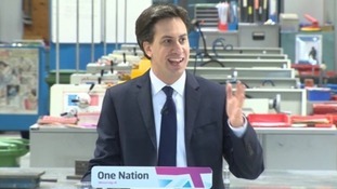 Ed Miliband thanks audience for Valentine's Day date  Labour leader Ed Miliband