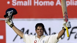 Cook scored his first century against India in 2006.