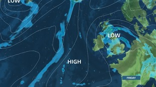 Low pressure brings an Autumnal feel by the end of the week
