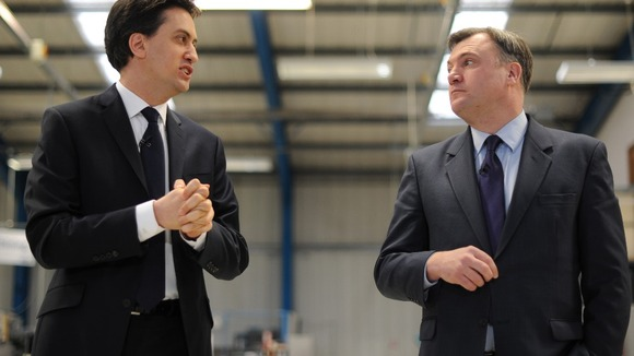 Labour leader Ed Miliband and shadow chancellor Ed Balls unveiled their new plans in Bedfordshire