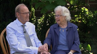 Brief Encounter star becomes one half of Britain's oldest newlyweds