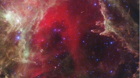 Infrared portrait from NASA&#x27;s Spitzer Space Telescope