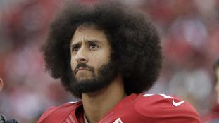 Colin Kaepernick led the protests against social injustice.
