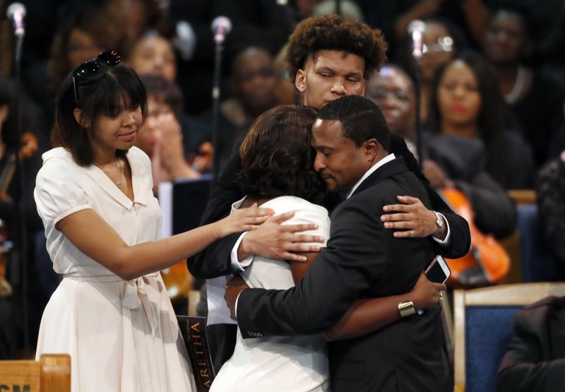 Aretha Franklin's family say eulogy at her funeral was ...
