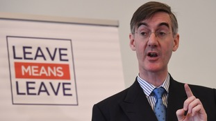 Brexiteer Jacob Rees-Mogg is not a supporter of the Chequers plan.