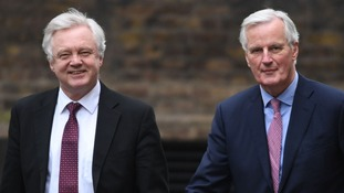 It appears Michel Barnier opposes all trade agreements other than one proposed by David Davis.