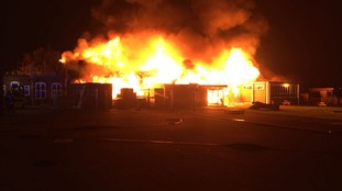 Primary school engulfed by blaze days before pupils due to start new autumn term